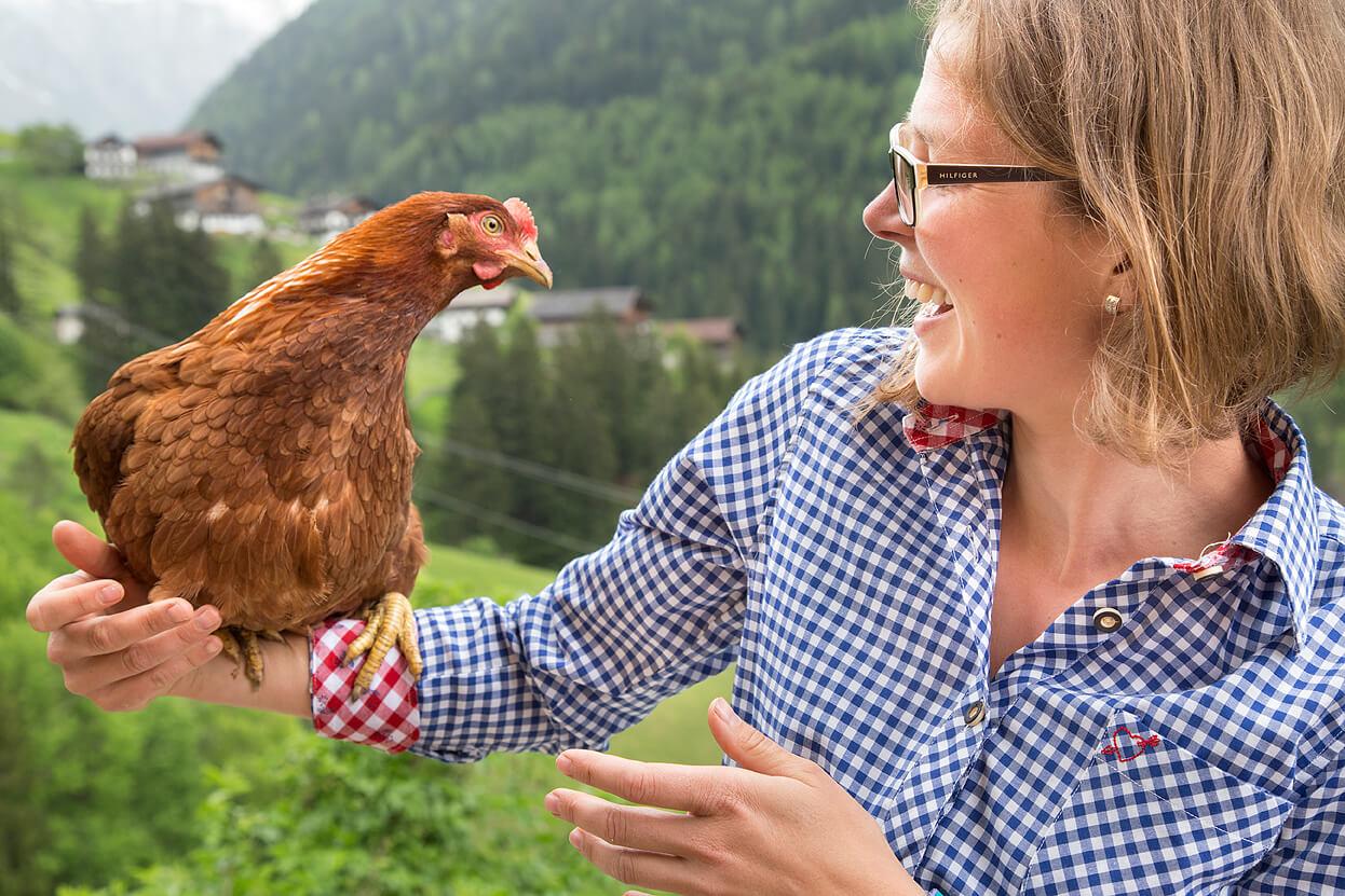 Katja Gamper Chefin Unterer Obereggerhof